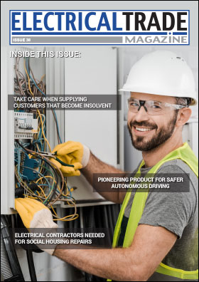 Electrical trade magazine issue 30 front cover