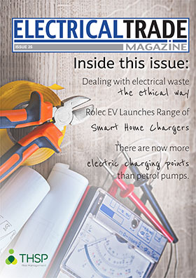 Electrical Trade Magazine issue 25 front cover