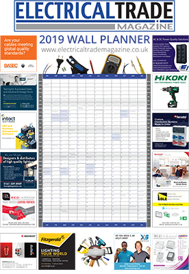 Electrical Trade Magazine Wall Planner 2019