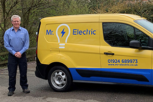 Grant Bolger, new franchise owner for Mr Electric West Yorkshire final.jpg