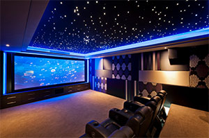 Home-Cinema at the UKCI20 AV smart home trade show