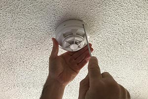 fire alarm engineer fitting product