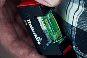 the NEW Mini Pocket spirit level from Hultafors Tools