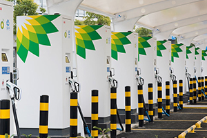 The DC fast charging station in China supported by the ABB