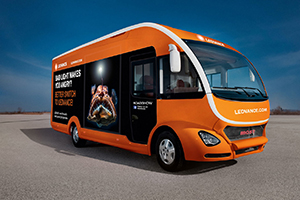Visitors to ELEX Exeter are invited onboard the popular LEDVANCE Truck to discover the latest lighting solutions