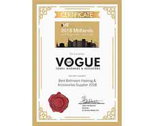 Vogue UK Certificate