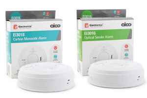 New Aico 3000 Series Fire & Co Alarms For Full Circle Protection