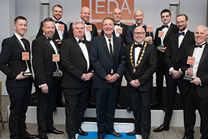 EDA Award winners with Phil Tufnell