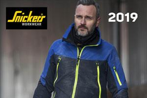 A man wearing new workwear from the Snickers Catalogue