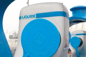 Air Liquide using the Essentra caps