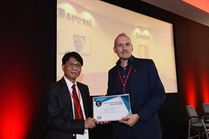 CIBSE President Peter Y Wong and Matt Crunden