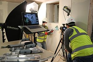 Green Imaging Ltd shooting the Tools of the Trade latest trowel range