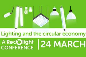 Lighting and the Circular Economy Conference poster