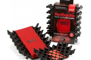 New Redbacks cushioning kneepads Pocket packaged and half