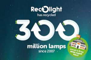 Recolight celebrates 300 Million recycling milestone by launching extended service offering
