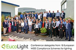 2018 Conference reconfirms EucoLight commitment to making the Circular Economy a reality for lighting