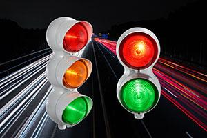 Sirena's Industrial LED Traffic lights have Traffic under control