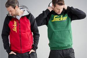 Snickers Workwear's NEW Sweatshirts for craftsmen