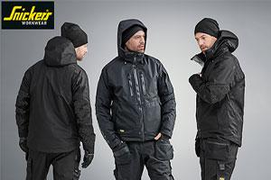 Snickers Workwear FlexiWork Insulated Jackets and Trousers