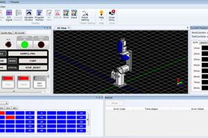 High performance 3D simulation in robotics software