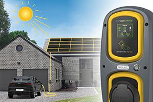 The New EV SolarCharge Unit from Rolec