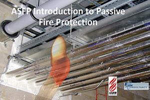 The ASFP Passive Fire Protection course poster