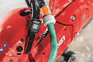 The Hilti ONTrack asset management on a drill