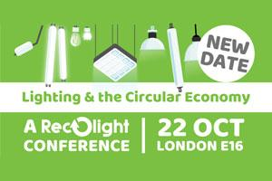 The Lighting and the Circular Economy Conference 2020 banner
