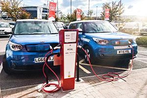 The Rolec Ev charging points