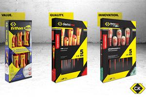 The new C.K dextroVDE Screwdriver Range