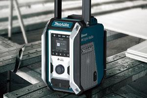 The new Makita DMR115 Job Site Radio