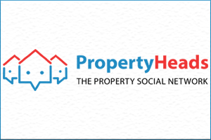 The property heads Property search engine logo