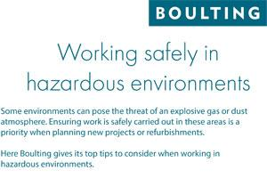 How to work in hazardous environments