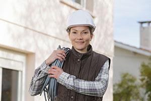 female tradespeople