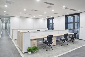modern office lighting