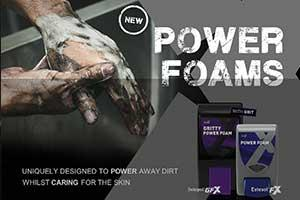 New POWER FOAMS Hand Cleaners