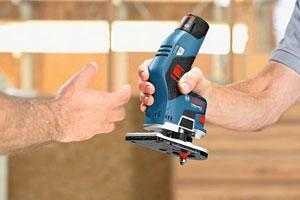 Cordless edge router and planer from Bosch